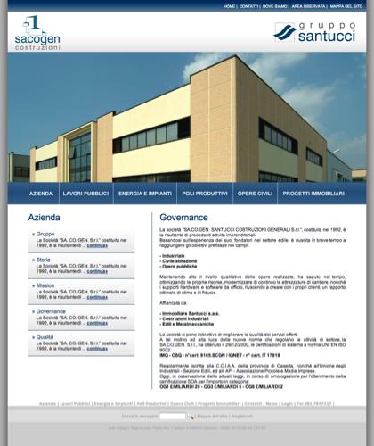 Azienda - Governance - Immobiliare Santucci -