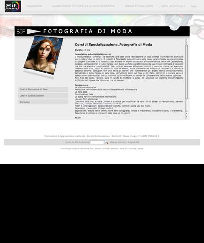 Fotografia Di Moda - Sif Academy - L'obiettivo Di Questo Modulo è Di Introdurre L'allievo Alla Conoscenza Dei Fondamenti Della Fotografia, Dai Principi Di Formazione E Registrazione Delle Immagini Alle Nozioni Di Estetica Che Trasformano Uno Scatto Q