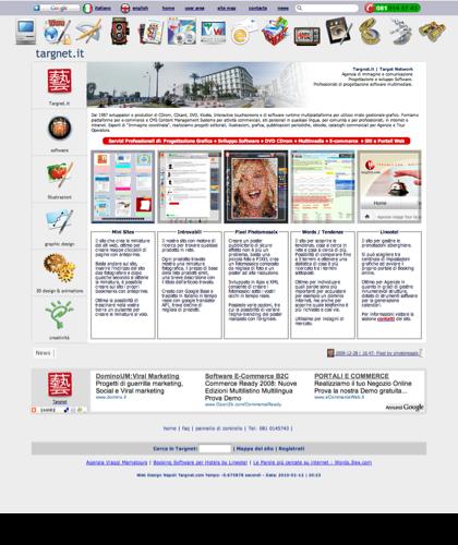Siti Dinamici Software E Siti Per E-commerce In Italia - Software Ecommerce In Italia Targnet - Ajax - Targnet Crea E Fornisce Servizi Specializzati Di Pubblicazione Online Di Prodotti, Servizi, Contenuti Multimediali Video Hd, 3d E Iconografici. Realizzi