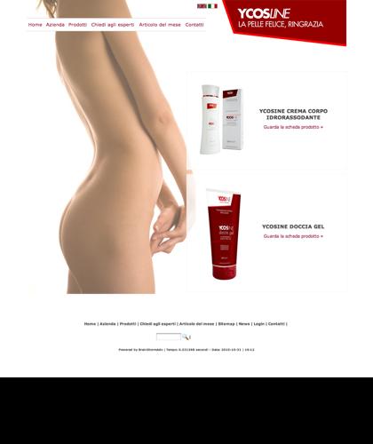 Ycosline Prodotti Corpo - Sfe - Azienda Che Produce Cosmetici E Prodotti Di Bellezza Per La Pelle. Ycosline Antirughe Fitoendorfine Idratanti Farmacia