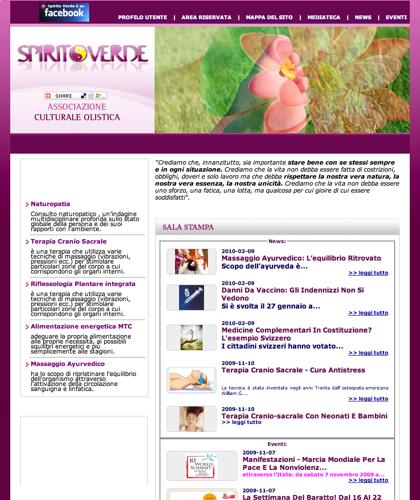 Spirito Verde Home - Spiritoverde - Associazione Culturale Olistica