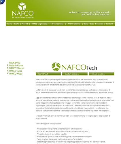Nafco Tech - Nafco - Soluzioni Ecocompatibili Ad Altissime Prestazioni