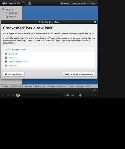Grooveshark - Free Music Streaming, Online Music