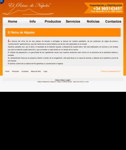Info - El Reino De Napoles - Importación Y Distribución, Productos Italianos