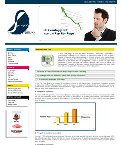 Le Tre Prospettive Del Pay Per Page Green  - Soluzione Ufficio -
