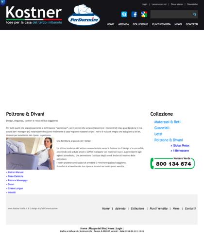 Poltrone & Divani Globalrelax - Kostner Italia - Idee Per La Casa Del Terzo Millennio.