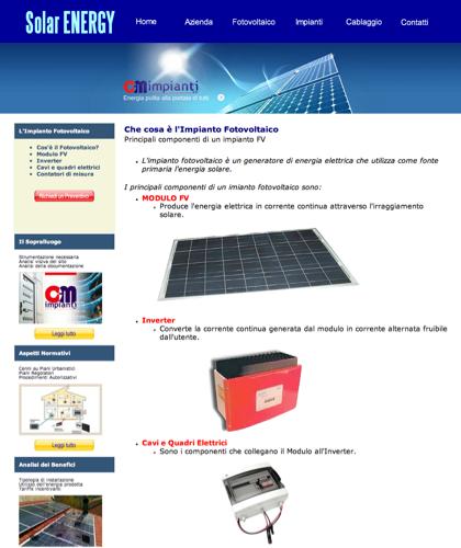 Cosa è Un Impianto Fotovoltaico - Cmimpianti - Cm Impianti - Energia Solare Impianti Elettrici Cablaggio Strutturato