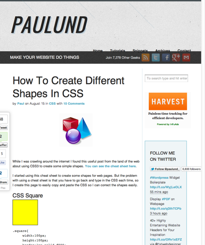 How To Create Different Shapes In Css