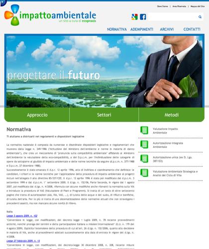 Impatto Ambientale - Normativa - Ecopraxis -