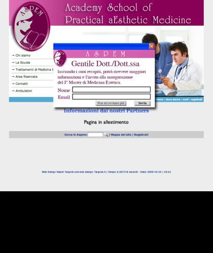 Dalle Aziende - Scuola Di Medicina Estetica Milano Aspem - Informazioni Aziende Partner Della Scuola Medicina Estetica Aspem Milano