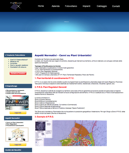Aspetti Normativi - Finpower Impianti - Cenni Su Piani Urbanistici, Procedimenti Autorizzativi