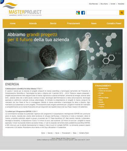 Energia - Master Project - Consulenza E Servizi Integrati Per La Finanza Agevolata