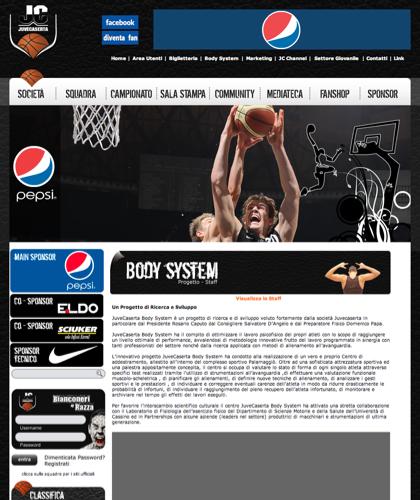 Body System - Juvecaserta -  Basket Juventus Caserta Pallacanestro. Associazione Sportiva, Campionato Italiano Basket. International Championship Basket Ball.