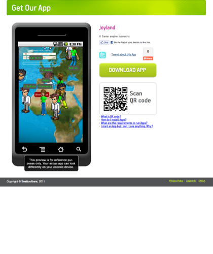 Joyland / App For Android / Made With Appsgeyser Free App Maker