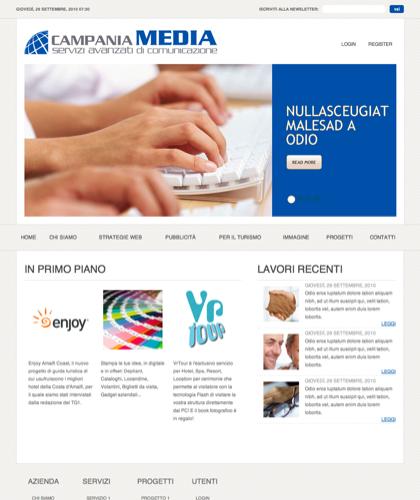 Home - Campaniamedia -  Servizi Avanzati Di Comunicazione