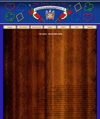 Antica Fabbrica Carte Da Gioco Muoiocartedagioco - Muoio Carte Da Gioco -  Carte Plastificate - Carte Regionali - Carte Personalizzate - Giochi Di Società - Dadi Fichese Astucci
