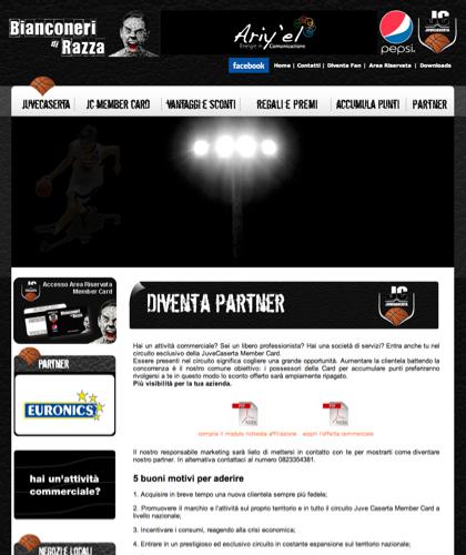 Diventa Partner - Juvecard - Basket, Pallacanestro. Associazione Sportiva, Campionato Italiano Basket. International Championship Basket Ball.