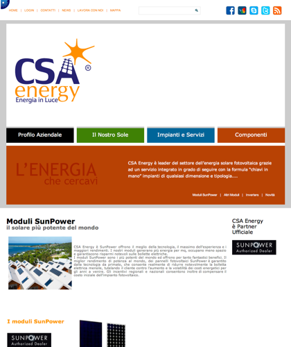 Moduli Sunpower - Csa Fotovoltaico - Moduli Fotovoltaici Sunpower, Rivenditore Ufficiale Sunpower, Csa Energy, Csa Energy, Fotovoltaico Chiavi In Mano,