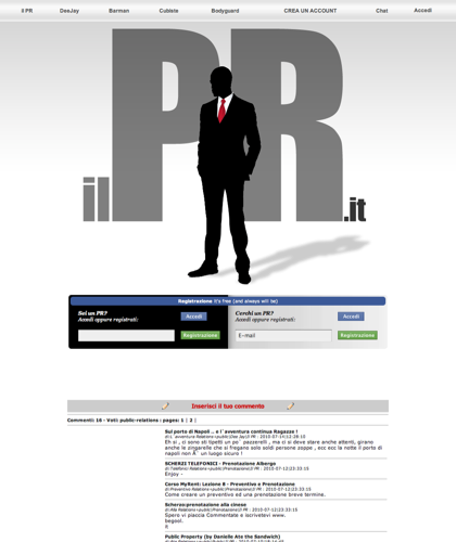 Pr Discoteche Public Relations - Il Pr - Cubiste - Disco Bar - Dee Jay Dj - Ingressi Omaggio - Riduzioni - Body-guard - Buttafuori - Sicurezza - Management Pr
