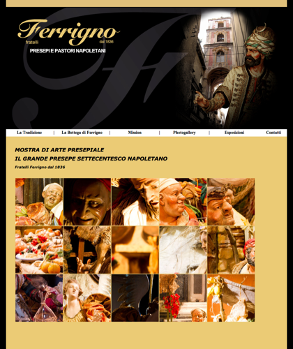 Il Grande Presepe Settecentesco Napoletano - Fratelli Ferrigno - Galleria Fotografica Il Grande Presepe Settecentesco Napoletano
