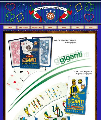 Carte Da Gioco Giganti - Muoiocartedagioco - Muoio Carte Da Gioco -  Carte Plastificate - Carte Regionali - Carte Personalizzate - Giochi Di Societ� - Dadi Fichese Astucci