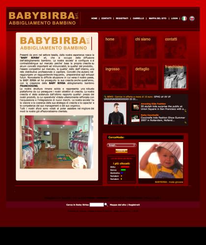 Azienda Abbigliamento Bambini - Baby Birba -  Industria Specializzata Nella Produzione, Vendita E Franchising Di Moda Giovane Per Infanzia, Adolescenza E Jeanseria Per Ragazzi E Ragazze