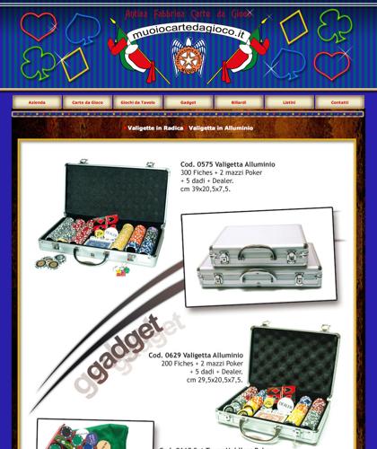 Gadget Valigette In Alluminio - Muoiocartedagioco - Muoio Carte Da Gioco -  Carte Plastificate - Carte Regionali - Carte Personalizzate - Giochi Di Società - Dadi Fichese Astucci