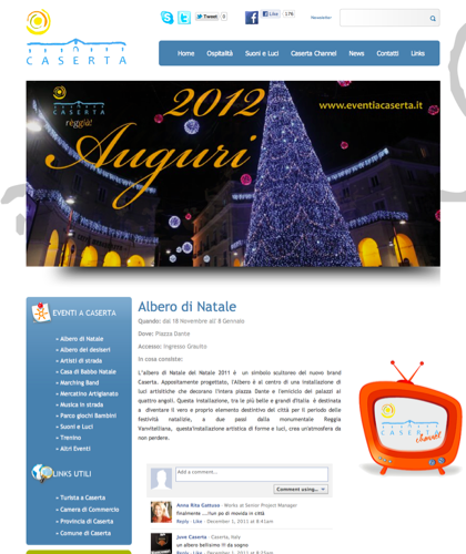 Albero Di Natale - Eventi A Caserta - Intro