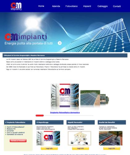 Cmimpianti Di Carmine Scognamiglio E Massimo Marruocco - Cm Impianti - Energia Solare Impianti Elettrici Cablaggio Strutturato