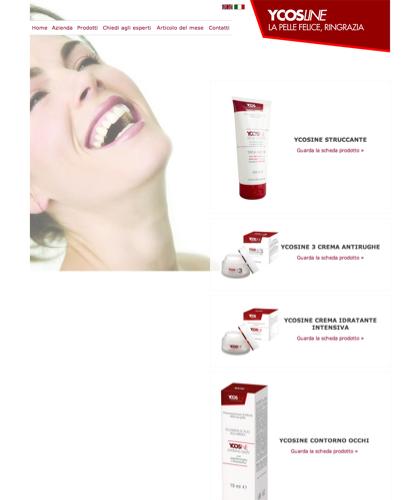 Ycosline Prodotti Viso - Sfe - Azienda Che Produce Cosmetici E Prodotti Di Bellezza Per La Pelle. Ycosline Antirughe Fitoendorfine Idratanti Farmacia