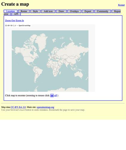 Create A Map