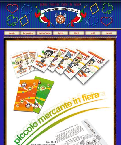 Piccolo Mercante In Fiera - Muoiocartedagioco - Muoio Carte Da Gioco -  Carte Plastificate - Carte Regionali - Carte Personalizzate - Giochi Di Società - Dadi Fichese Astucci