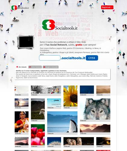 Social Tools - Tutti Gli Strumenti Per Creare Il Tuo Social Network Gratuitamente - Crea Il Tuo Sito Web Gratis - Pannello Di Controllo Utenti - Gestione Grafica E Contenuti - Blog Chat Ecommerce Carrello Mail-list Forum Discussioni Commenti