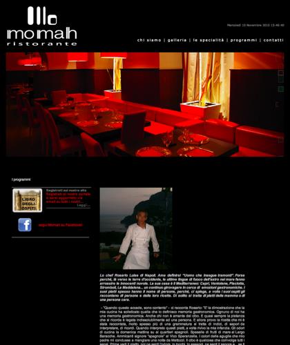 Momah Ristorante Napoli - Specialità - Ristorante Momah - Momah Ristorante Napoli