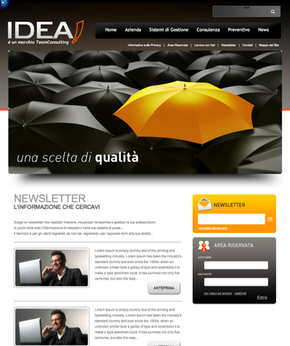 Newsletter - Idea Cert - è Un Marchio Teamconsulting