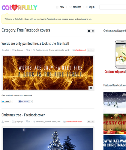 Free Facebook Covers | Colorfully