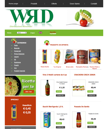 Wrd Alimentari Home Page