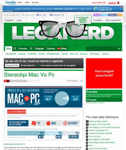 Lega Nerd | Social Blog Scritto Da Nerd