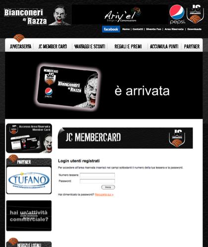 Area Riservata Card - Juvecard - Basket Pallacanestro. Associazione Sportiva, Campionato Italiano Basket. International Championship Basket Ball.