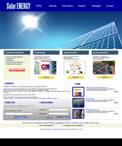 Impianti Fotovoltaici Cmimpianti - Cm Impianti - Energia Solare Impianti Elettrici Cablaggio Strutturato Portici Napoli