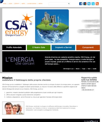 Mission - Csa Fotovoltaico - Energia In Luce