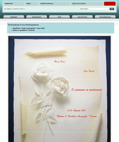 Personalizzazione:91276 - Italy Paper - Modifica I Testi Inserendo I Tuoi Dati: