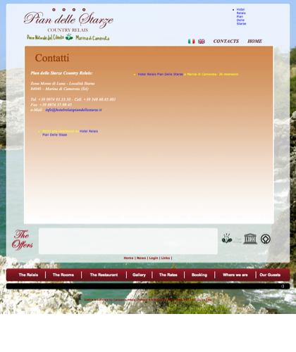 Contatti - Hotel Relais Pian Delle Starze - Intro