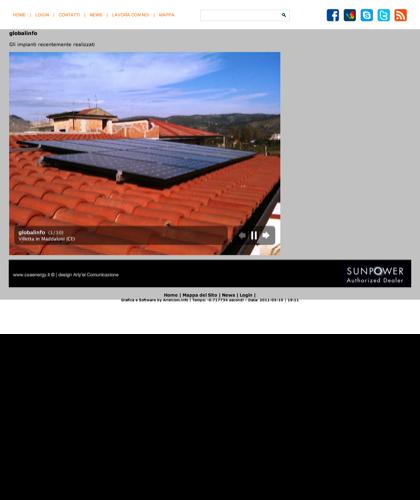 Impianti Fotovoltaici Csa Energy Di Recente Installazione - Csa Fotovoltaico -