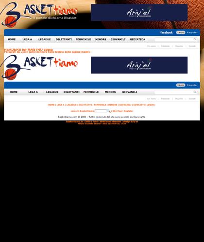 Headers For Mastro Copia - Baskettiamo - Paragrafi Da Usare Come Banners Nella Testata Delle Pagine Mastro