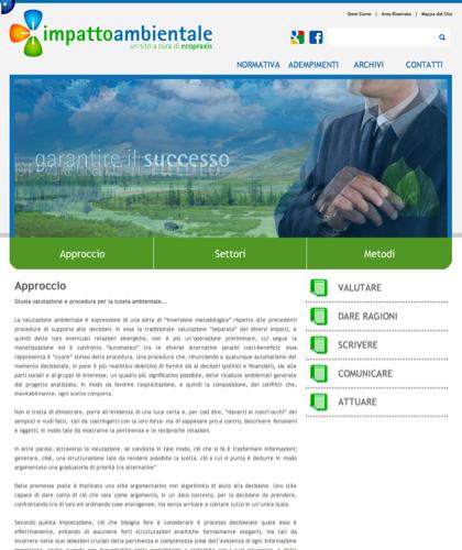 Impatto Ambientale - Aproccio - Ecopraxis -