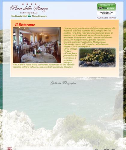 Ristorante - Hotel Relais Pian Delle Starze - Il Carrubone