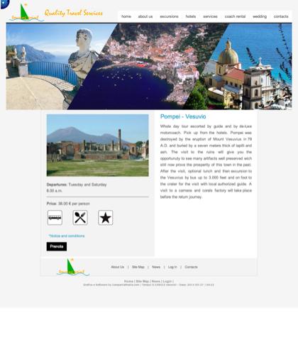 Pompei - Vesuvio  - Amalfi Coast Touring - Quality Travel Services