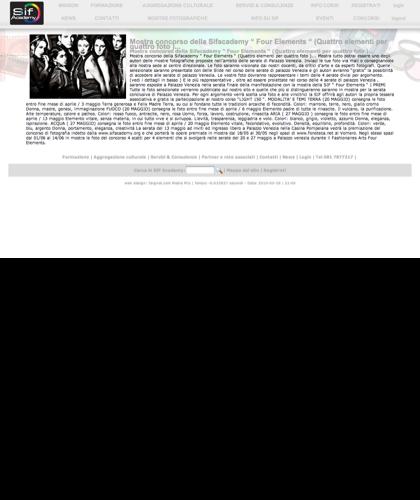 """Mostra Concorso Della Sifacademy """" Four Elements """" (quattro Elementi Per Quattro Foto )...  - Sif Academy - Mostra Concorso Della Sifacademy """" Four Elements """" (quattro Elementi Per Quattro Foto )..."""