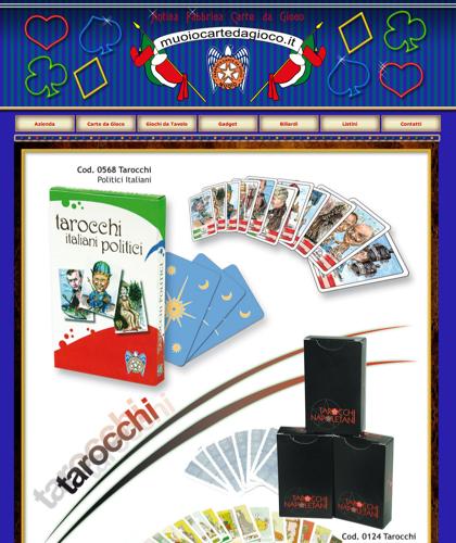 Carte Tarocchi - Muoiocartedagioco - Muoio Carte Da Gioco -  Carte Plastificate - Carte Regionali - Carte Personalizzate - Giochi Di Società - Dadi Fichese Astucci